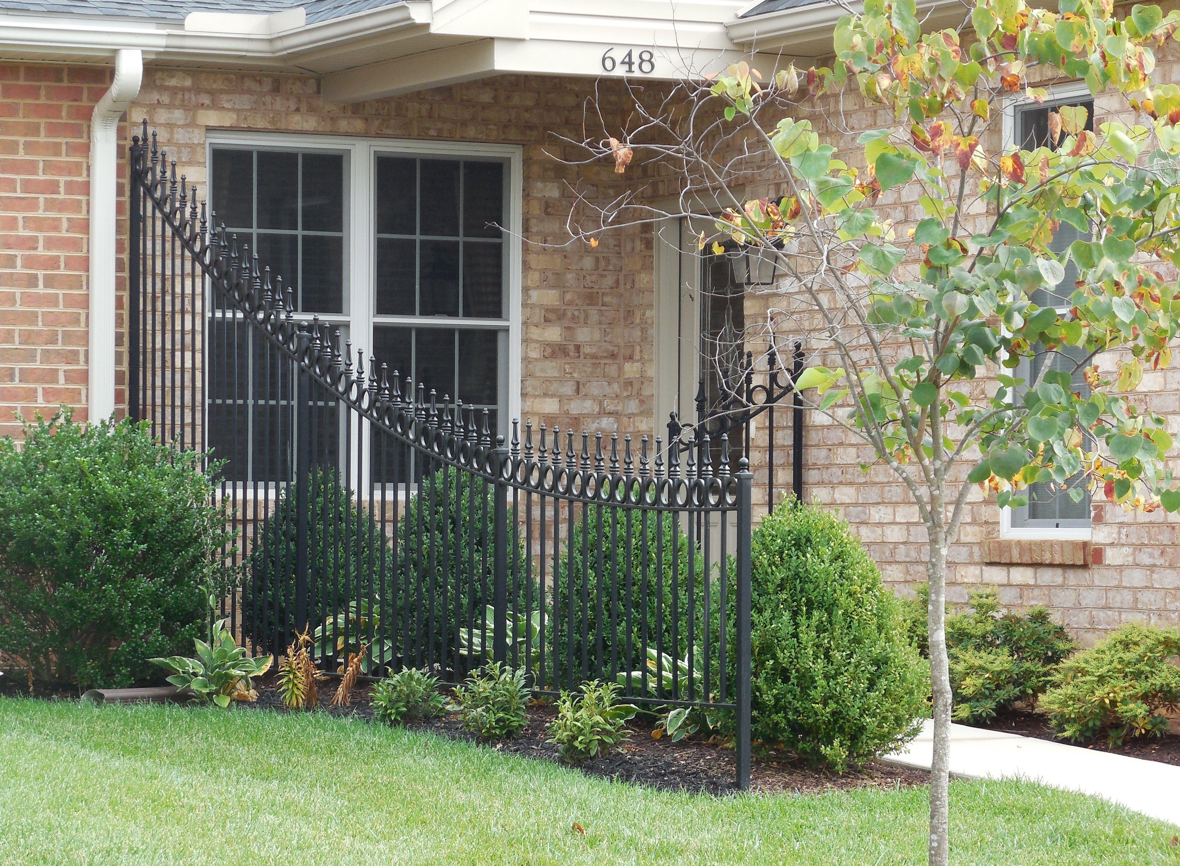 Best 25 wrought iron fence panels ideas on pinterest iron fence wrought iron fence panels baanklon Choice Image