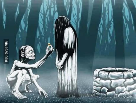 Love story. The ring meets LOTR