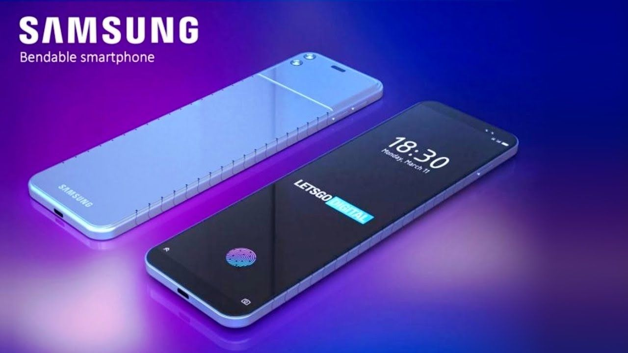 Best Phone 2020.Samsung Bendable Phone 2020 Roll Up Galaxy Smartphone In