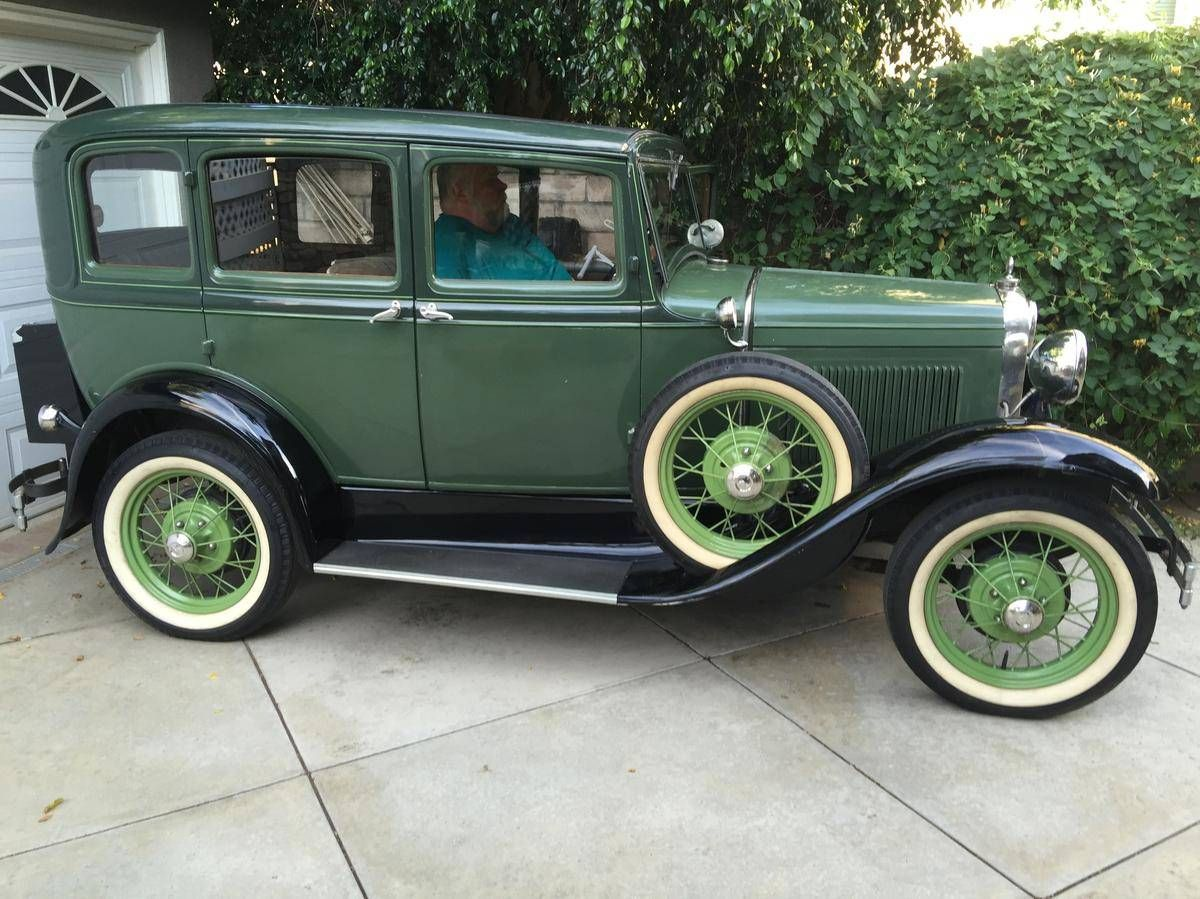 1931 Ford Model A Slant Windshield Sedan