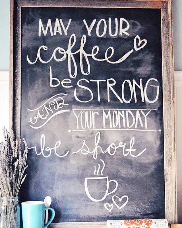Instagram Photo By Misti Buard Apr 25 2016 At 2 10pm Utc Coffee Quotes Opening A Cafe Coffee Shop
