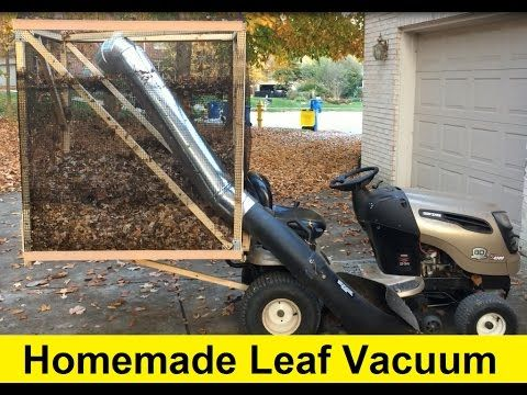 1 How To Build A Homemade Leaf Vacuum For 50 Diy Youtube Lawn Vacuum Diy Lawn Diy Leaves