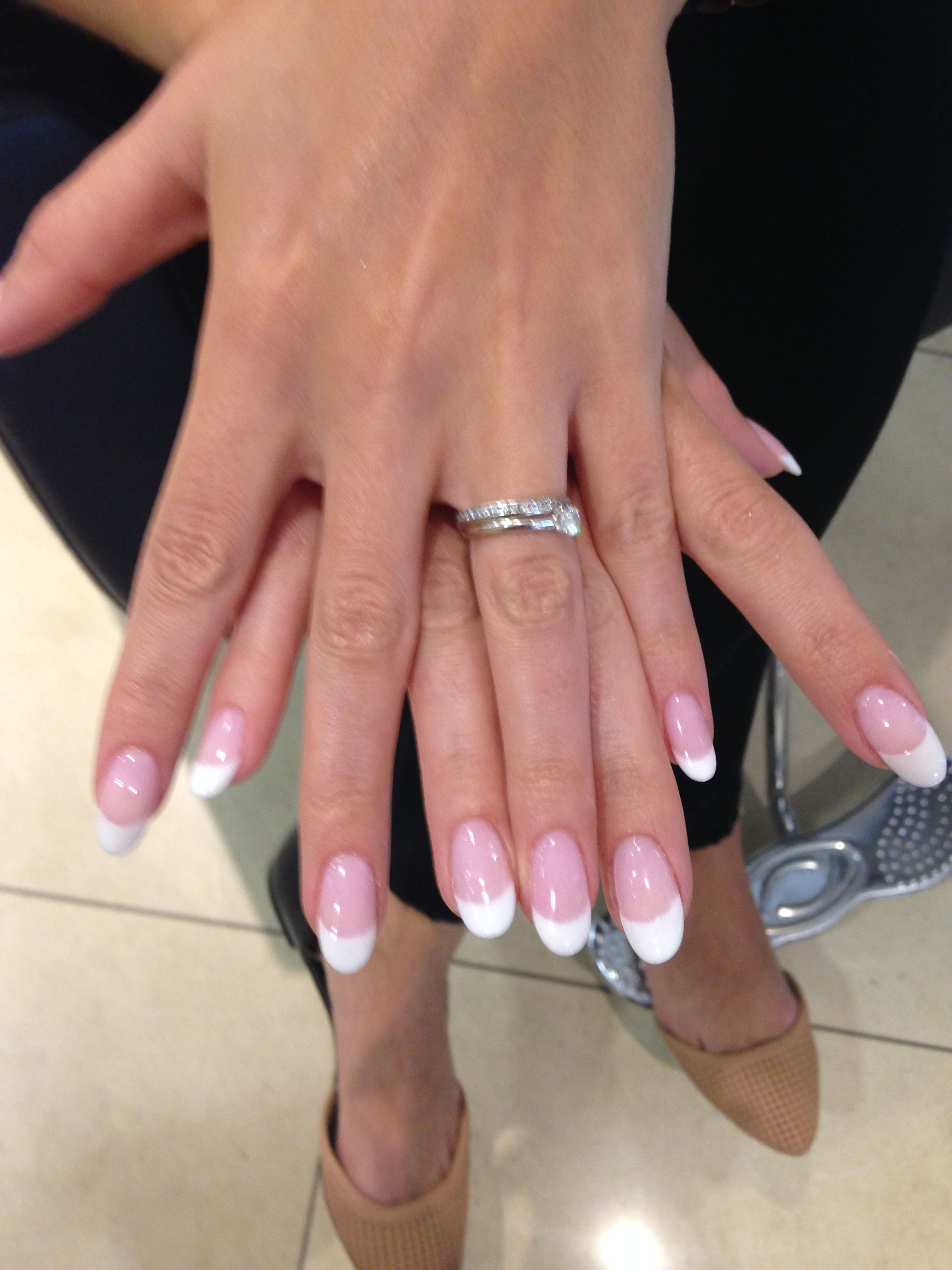 Round French manicure   3. Double Team + Dynamicpunch Fantastic ...