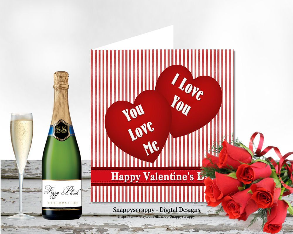 Valentines printable cards greeting cards valentines day card valentines printable cards greeting cards valentines day card topper card front print yourself card toppers kristyandbryce Image collections