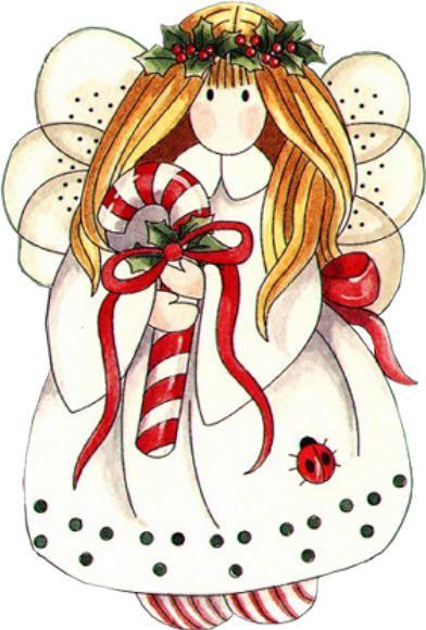 Christmas Angels Images Clip Art.Para A Etiqueta Que Fecha O Envelope Uso Esta Imagem My