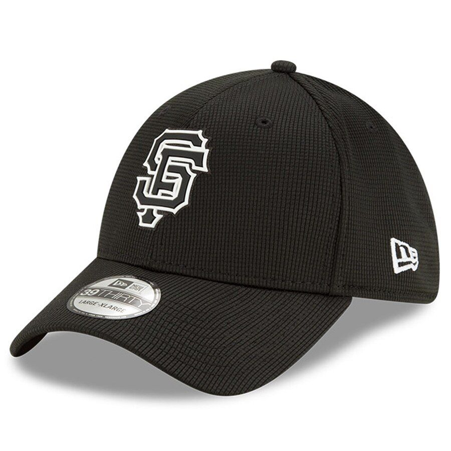 Men's San Francisco Giants New Era Black Team Clubhouse