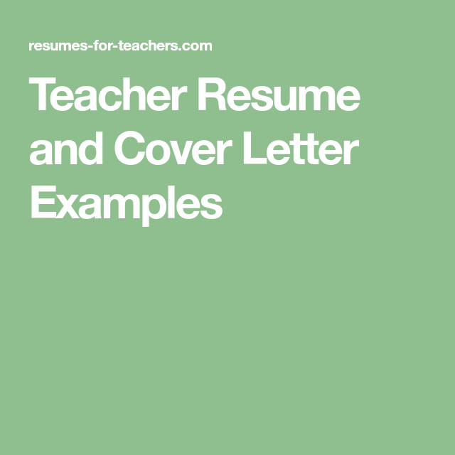 Student Teaching Resume Samples 15 A Teacher Resume Samples With Matching Cover Letters  Cover .