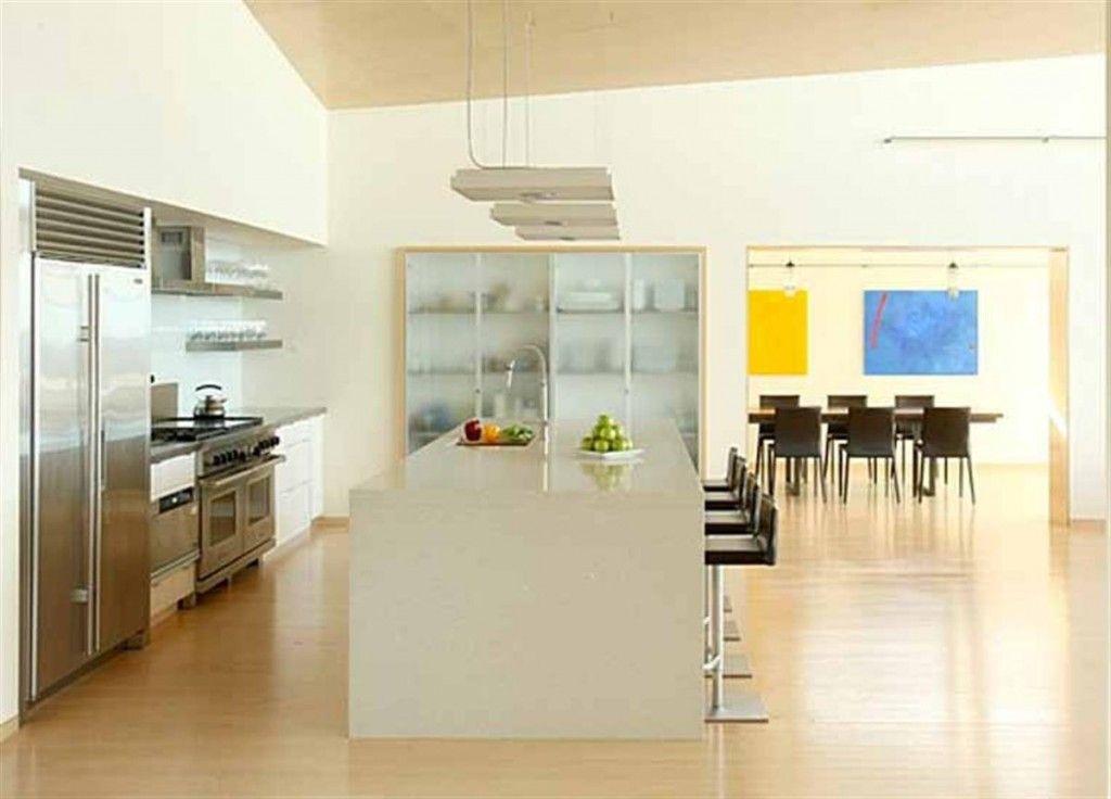 Ultra modern kitchen.   Modern kitchen open plan, Modern kitchen design, Home