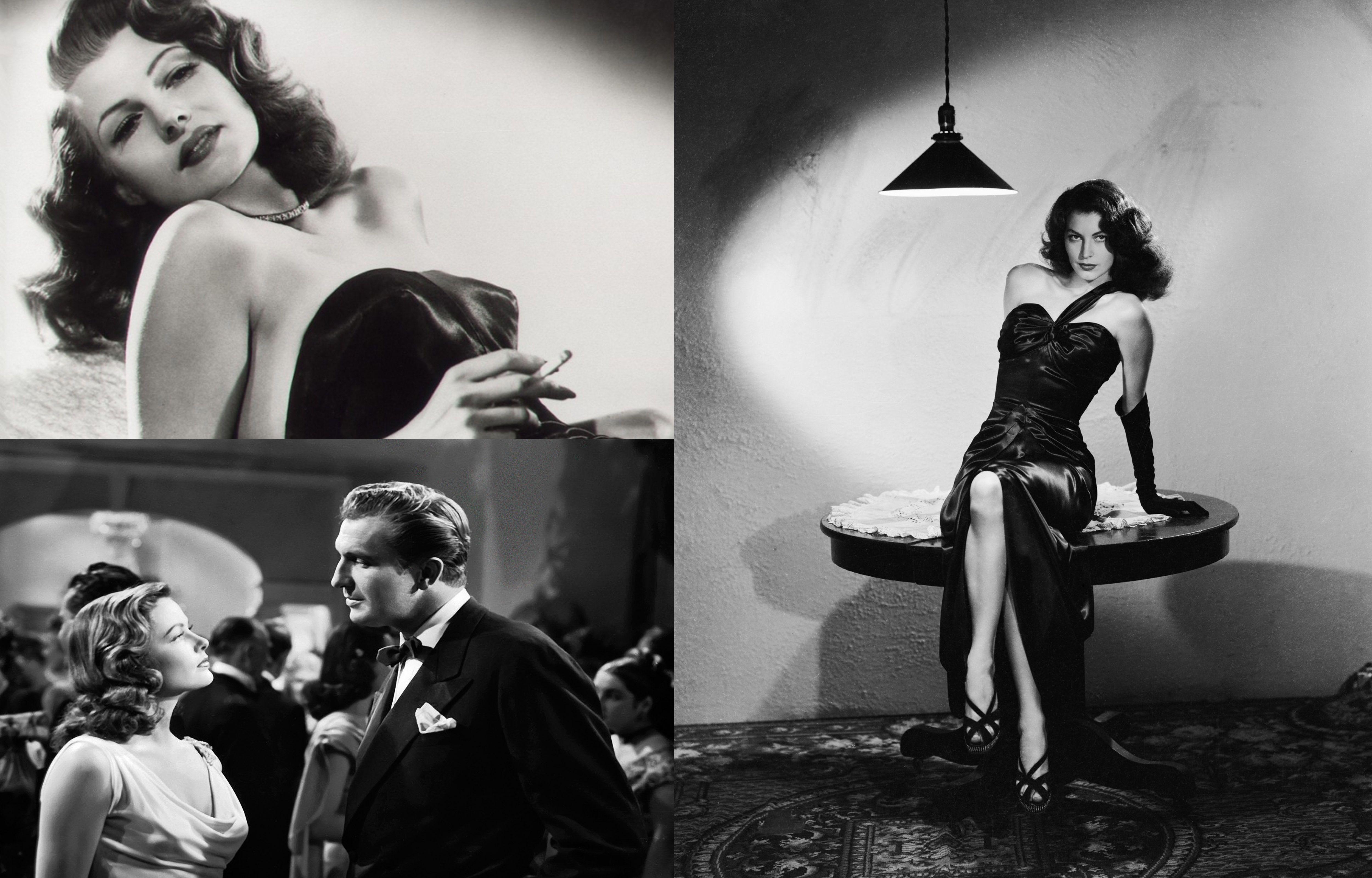 8d63e58c3 Cherchez la femme fatale  film noir fashion of the 1940 s