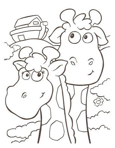 El Arca De Noé Dibujos Para Colorear Infantil El Arca De Noe Dibujos Para Colorear Artesanía Biblica