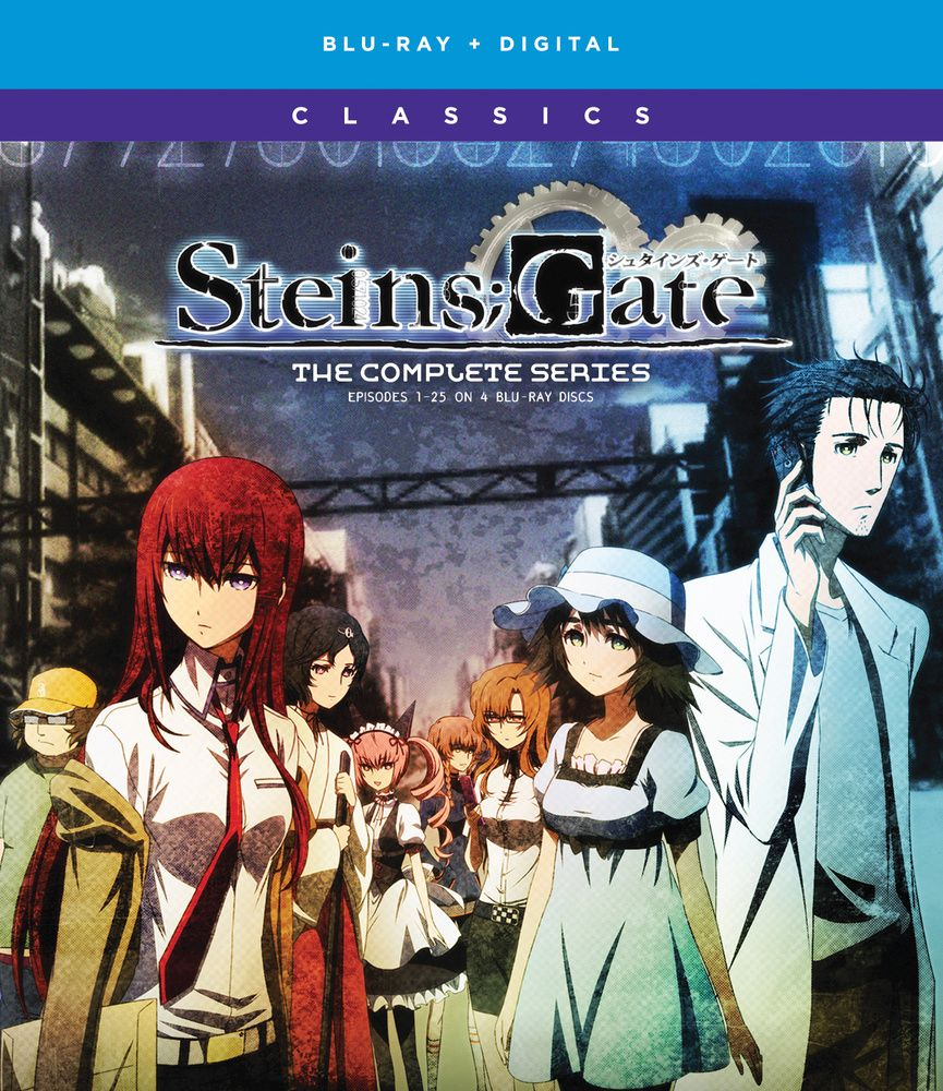 Steins Gate The Complete Series Blu Ray Anime Episodes Blu