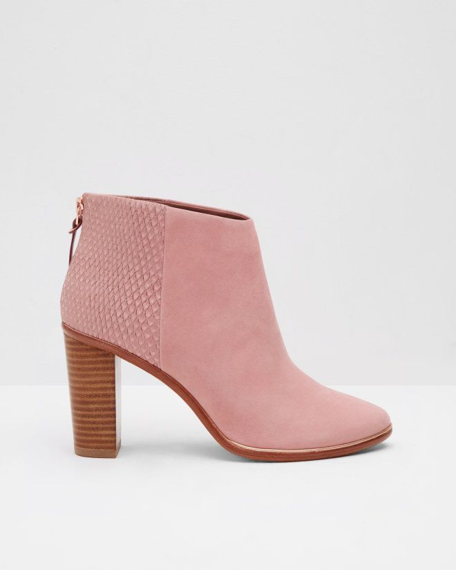 Boots, Leather ankle boots