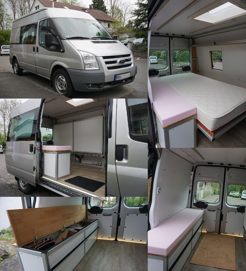 ford transit wohnmobil ausbau 50 diy camper van karavan. Black Bedroom Furniture Sets. Home Design Ideas