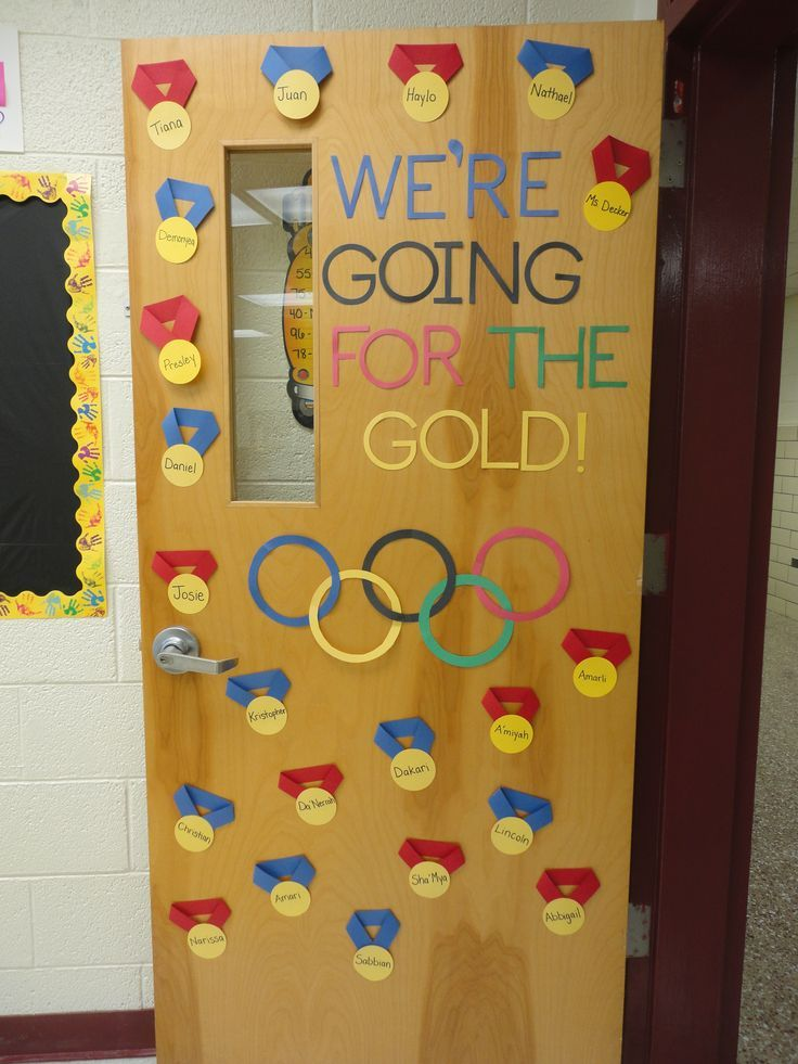 Classroom Decorating Ideas Olympic Theme : Olympic themed classroom behaviour chart door