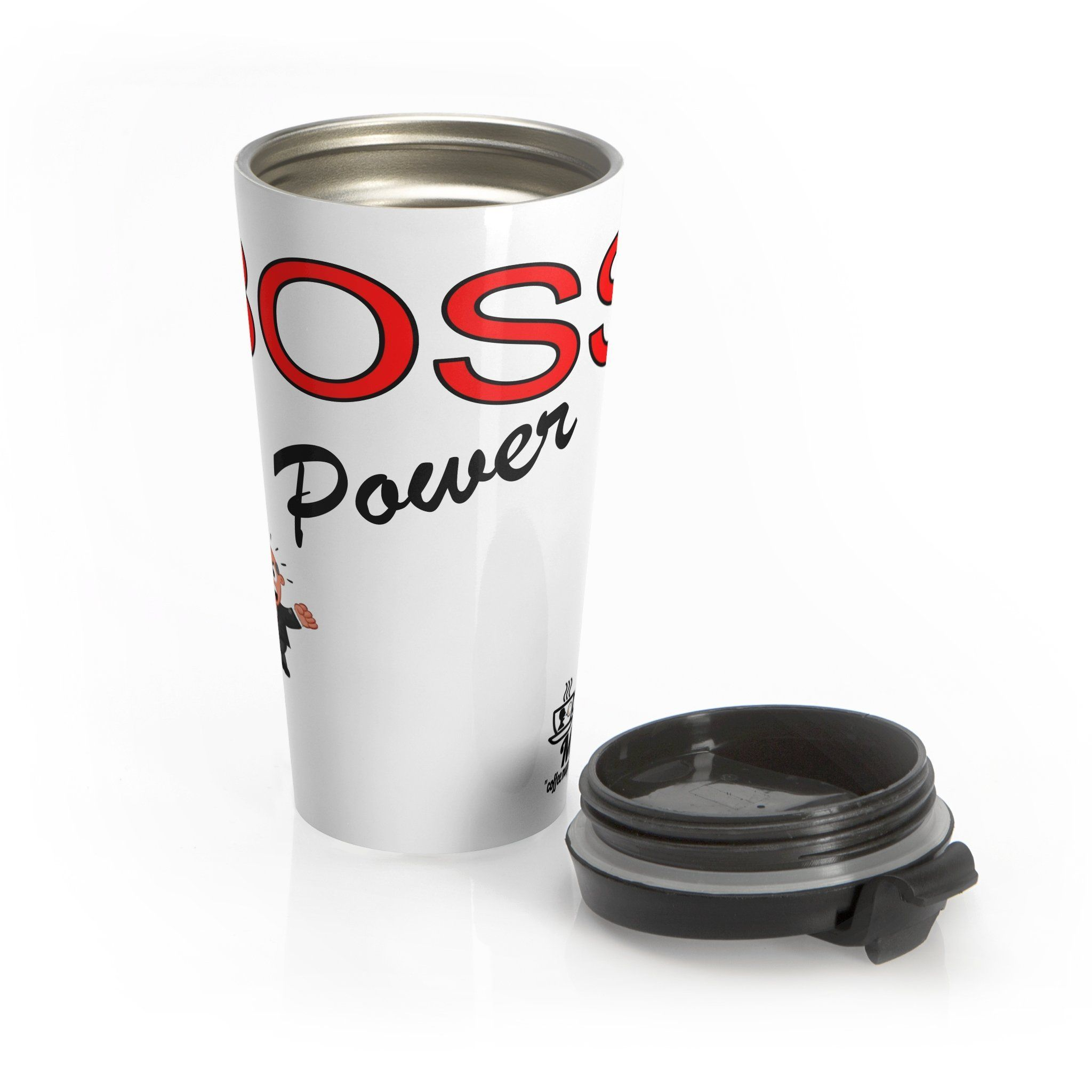 Boss power Stainless Steel Travel Mug