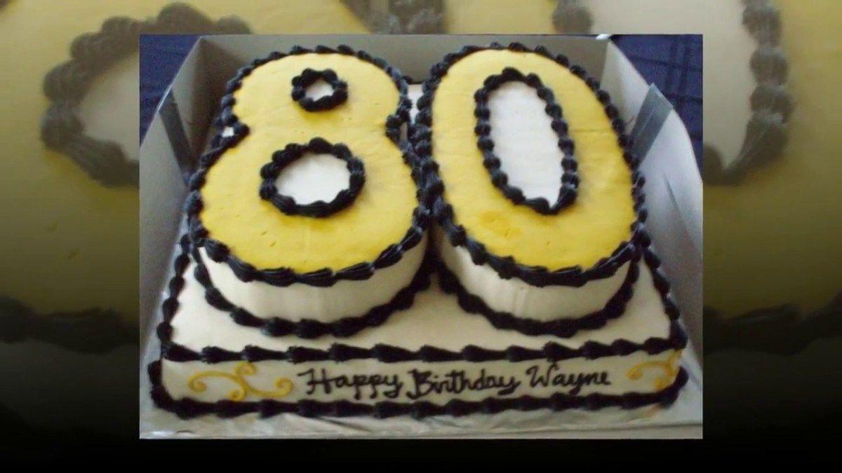 Miraculous 80Th Birthday Cake 80Th Birthday Cake Ideas Cake Decoration Ideas Personalised Birthday Cards Sponlily Jamesorg
