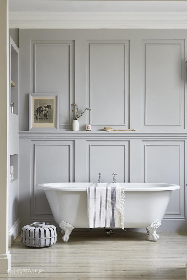 an industrial chic home in london home decor gray walls bathroom decor