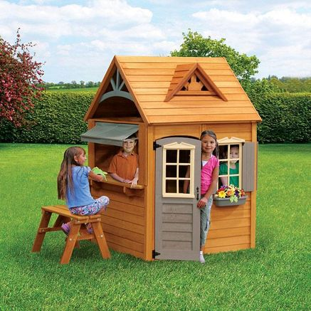 Big Backyard By Solowave 174 Catalina Wooden Playhouse