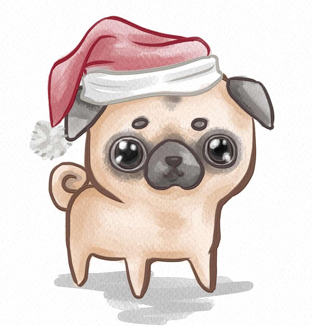 Chibi pug pugspugspugs pinterest pugs pug love and