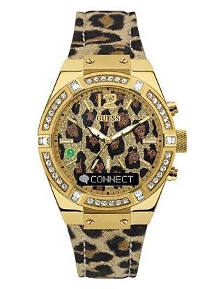 parti gioco dazzardo desiderabile  GUESS Connect Leopard-Print Smartwatch | shop.GUESS.com | Womens watches,  Leather straps, Guess watch