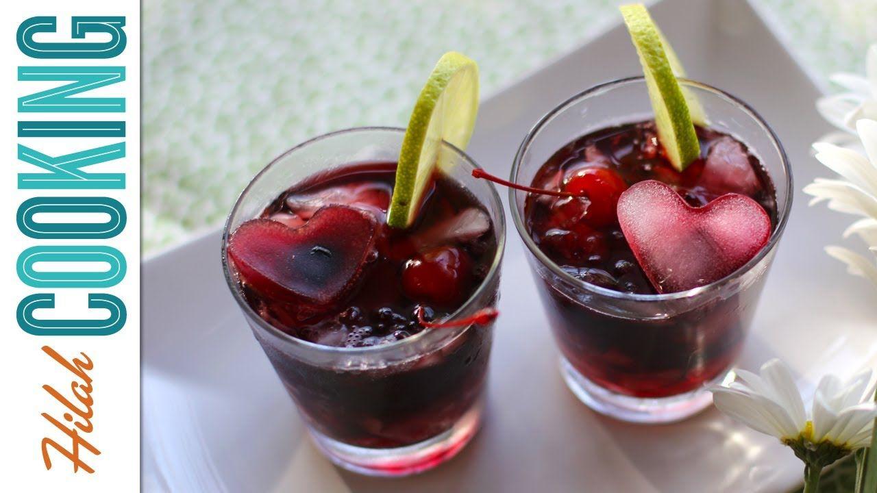 Vodka Cherry Limeade! Cocktail Recipe | Limeade punch ...