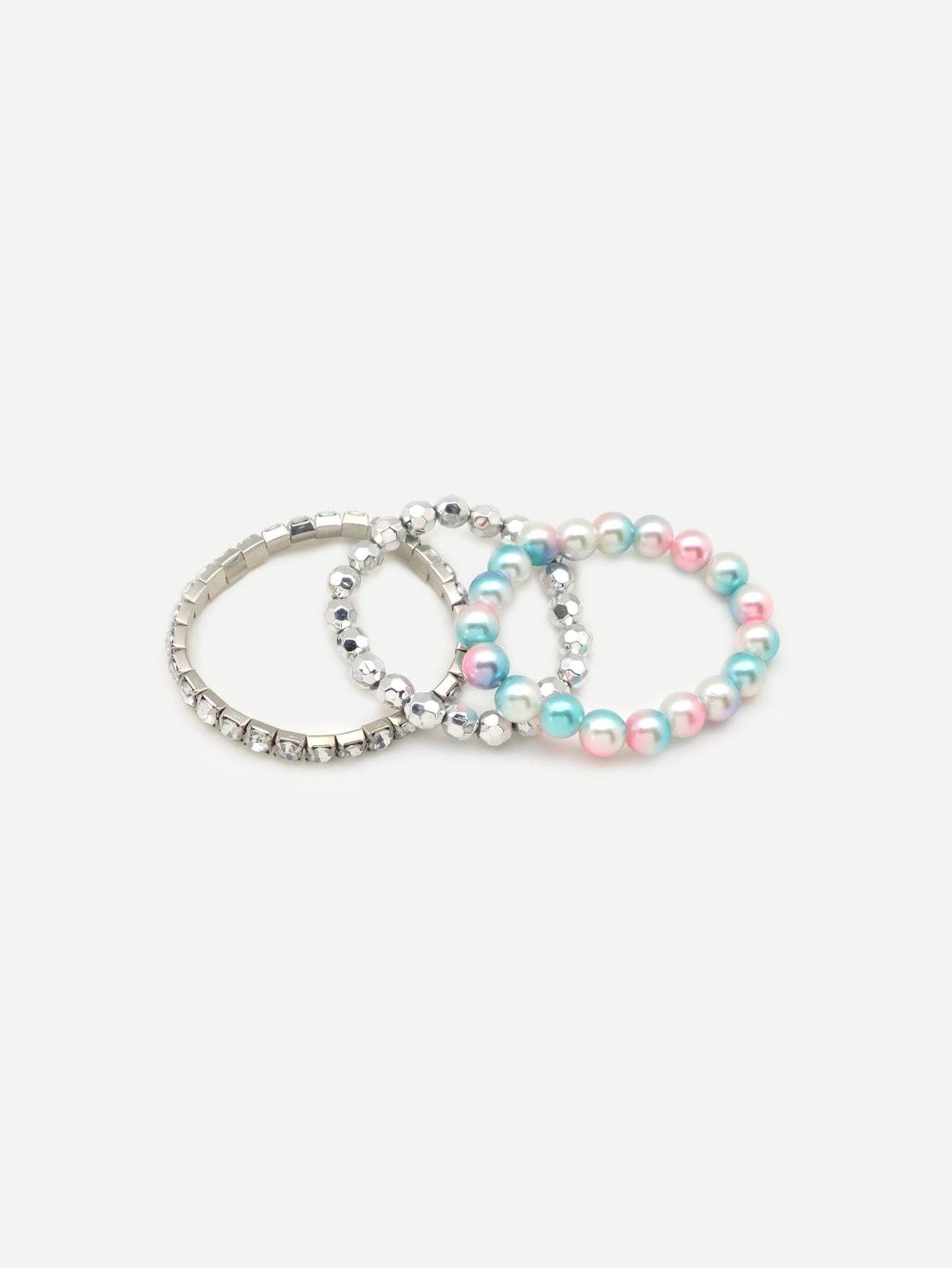 Beaded Bracelet 3pcs In