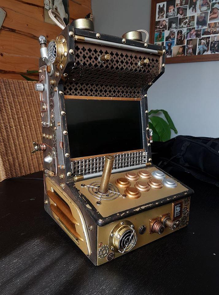bartop recalbox - Octave Vergébelle | For the Home | Retro arcade