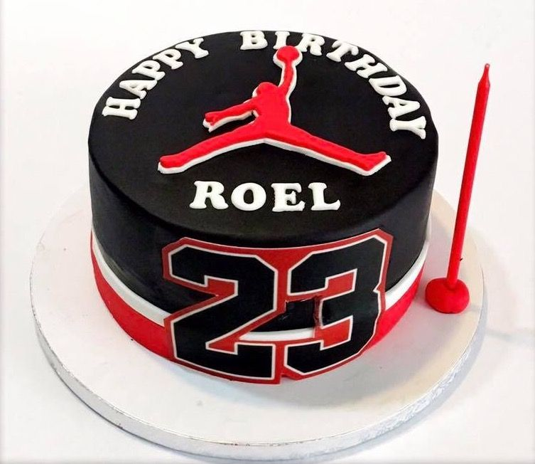 Admirable Michael Jordan Cake Jordancake Michaeljordan Michaeljordancake Funny Birthday Cards Online Elaedamsfinfo