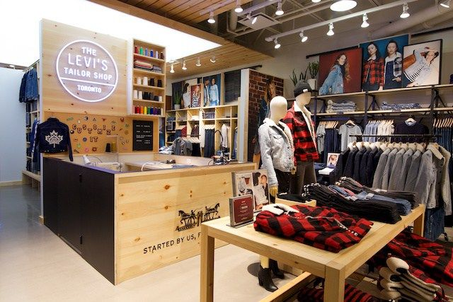 9a24fe6b Levi's Expands Customization 'Tailor' Concept Stores in Canada The iconic  denim brand is addressing the trend towards product personalization, ...