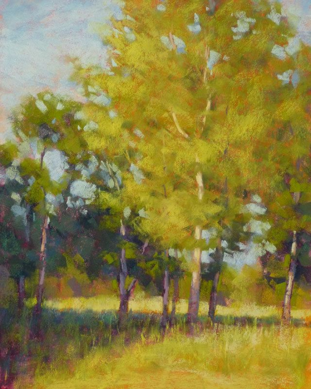 Evening Glade by Rita Kirkman Pastel ~ 14 x 11 inches