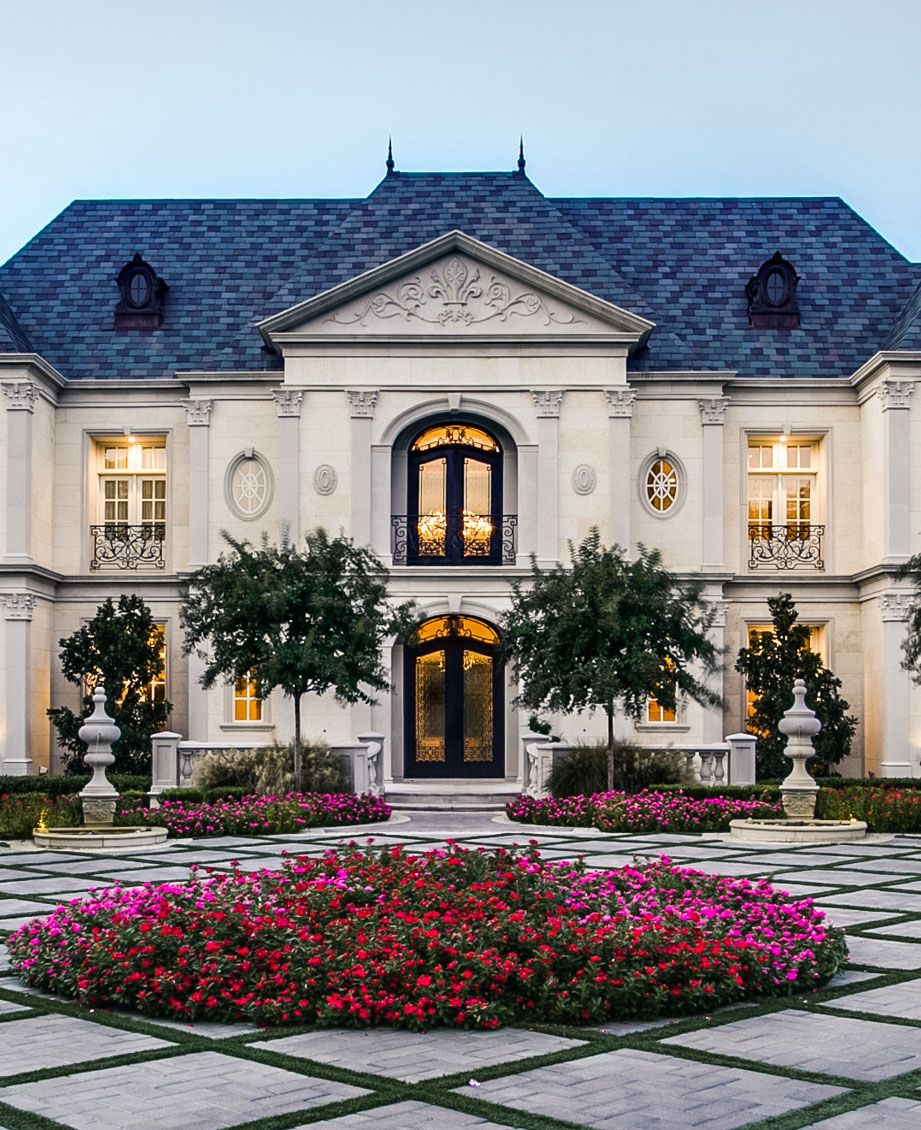 Exquisite French Chateau Style Home with Classical Architecture  Dallas Texas