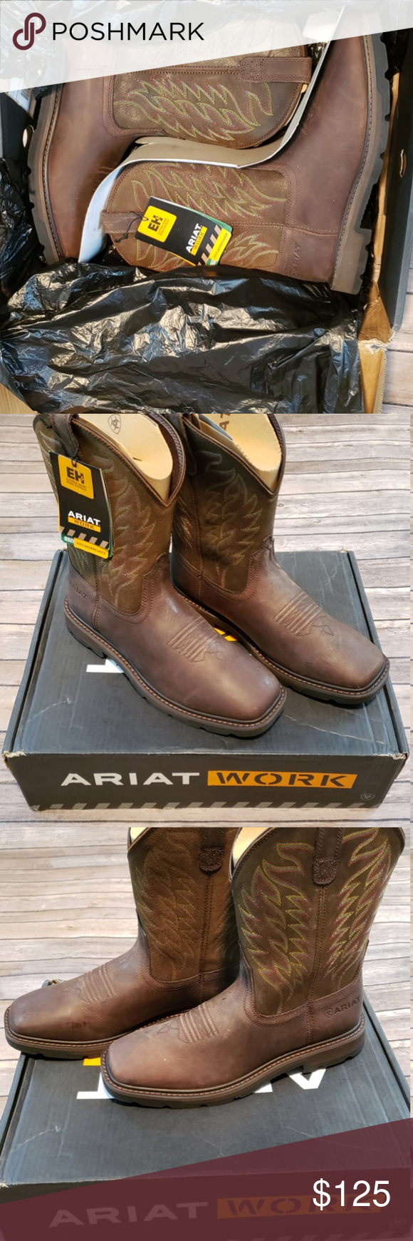 137fe545698 ARIAT Groundbreaker Work Boots Sz 10.5 D Brand new with box ARIAT ...