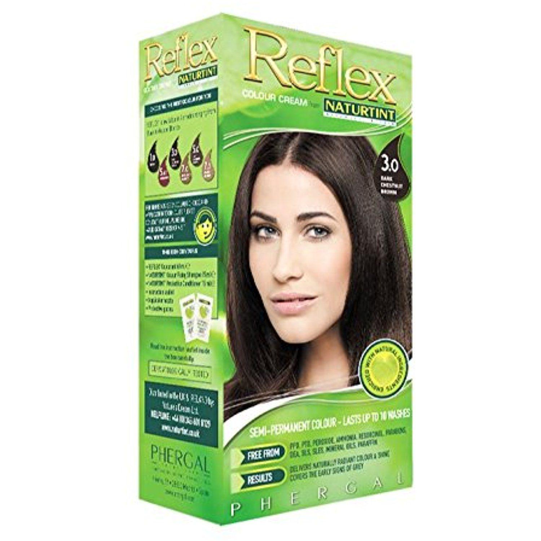 Naturtint Reflex Non Permanent Colour Rinse 3 0 Dark Chestnut Brown 90ml Bundle By Naturtint Semi Permanent Hair Color Color Rinse Hair Color Shades