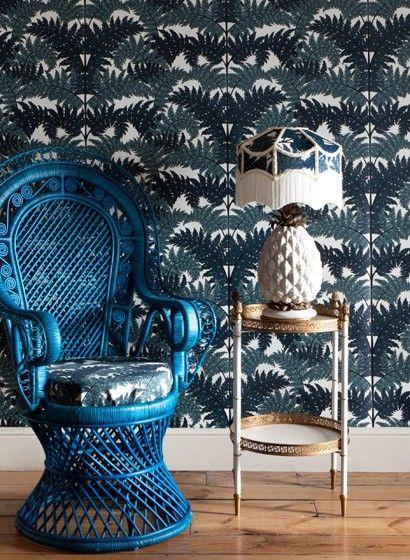 wandbild inferno von house of hackney englisch britisch tapete floral. Black Bedroom Furniture Sets. Home Design Ideas