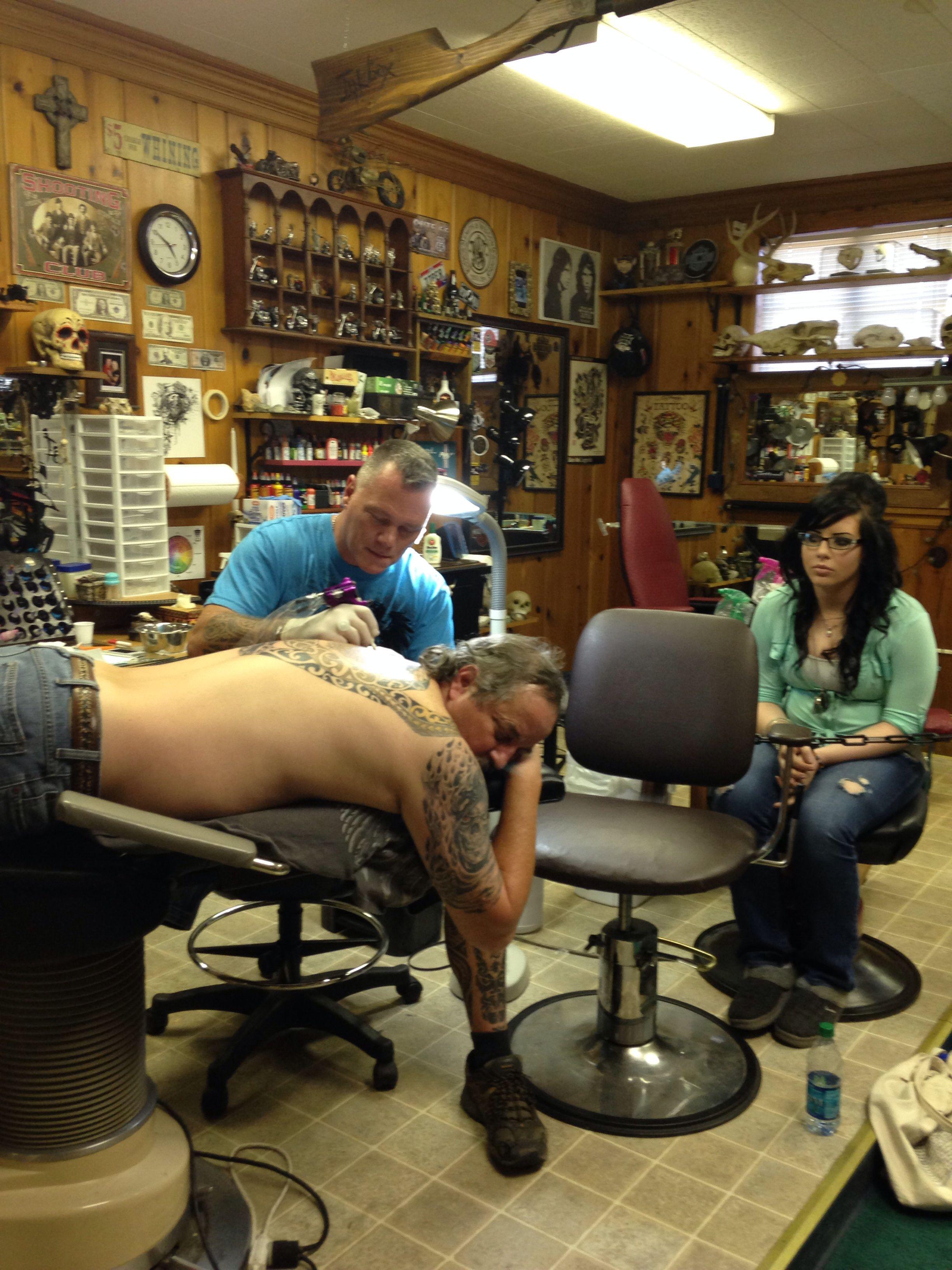 Inkbox Tattoo Chillicothe Ohio Mason Smith artist