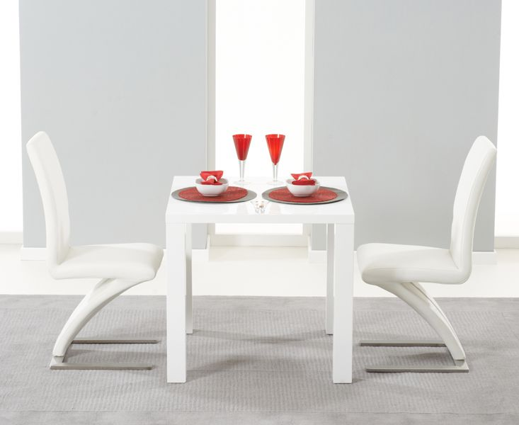 Hampstead 80Cm White High Gloss Dining Table With Hampstead Z Unique High Gloss Dining Room Furniture Design Inspiration
