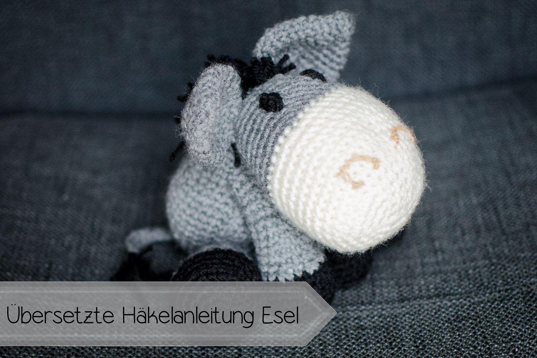 Esel Kostenlose Häkel Anleitung Tiere Häkeln Pinterest Crochet