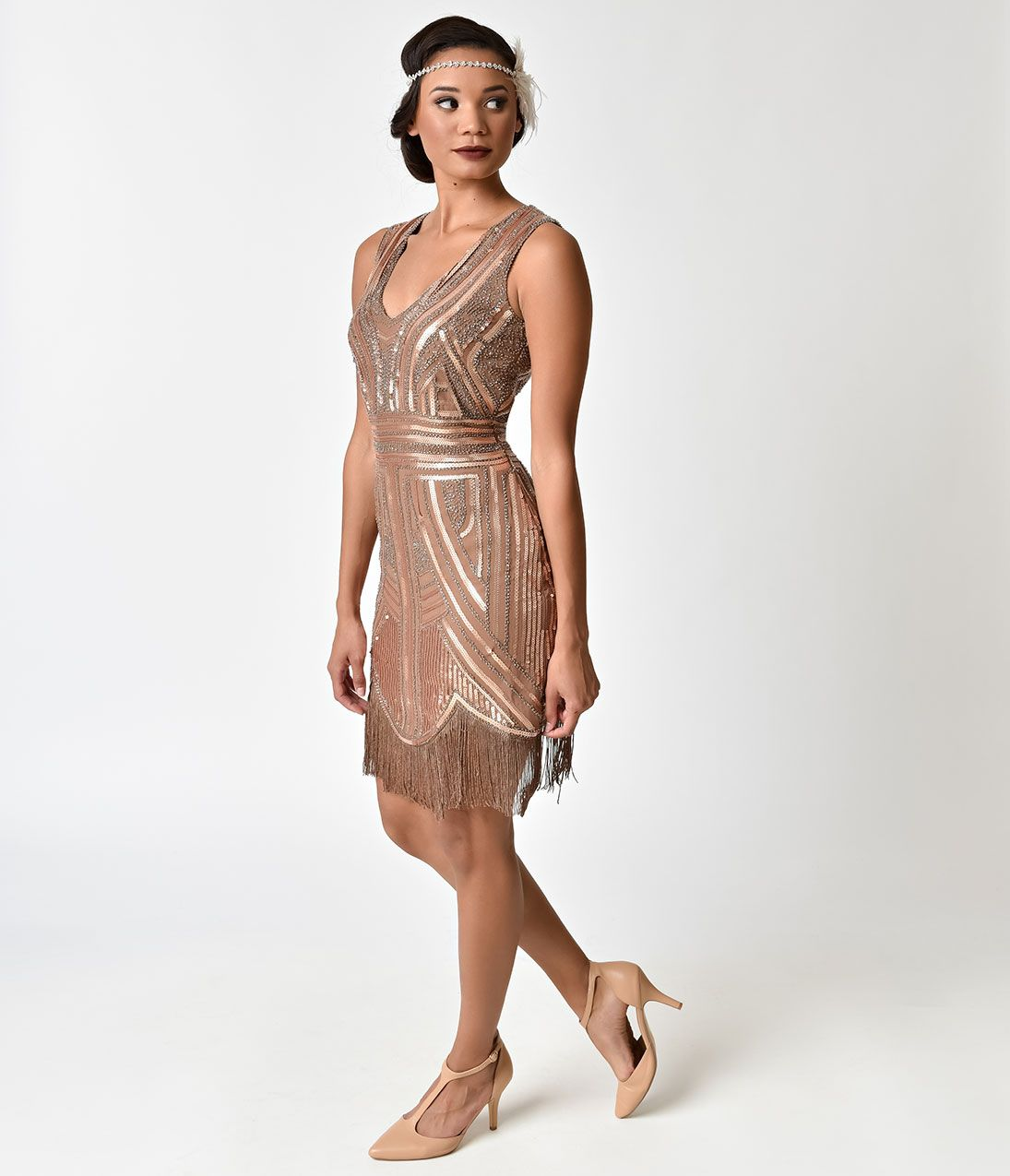 1920\'s Style Dresses: Flapper Dresses to Gatsby dresses | Pinterest