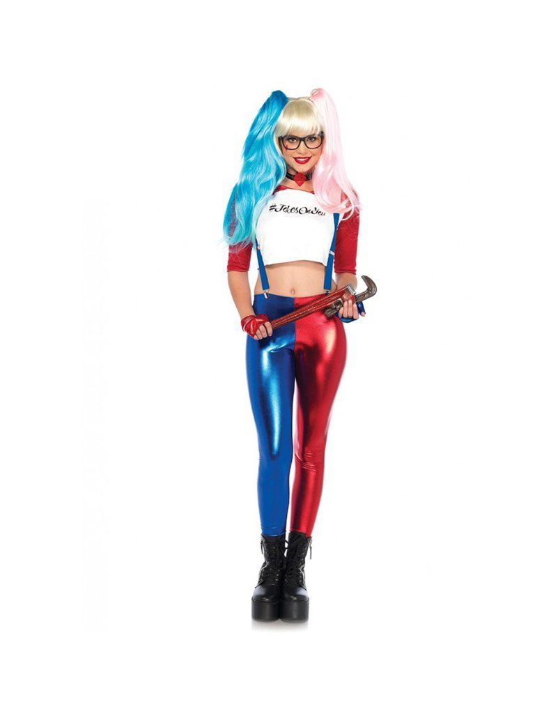Womens Harley Quinn Halloween Costume DC