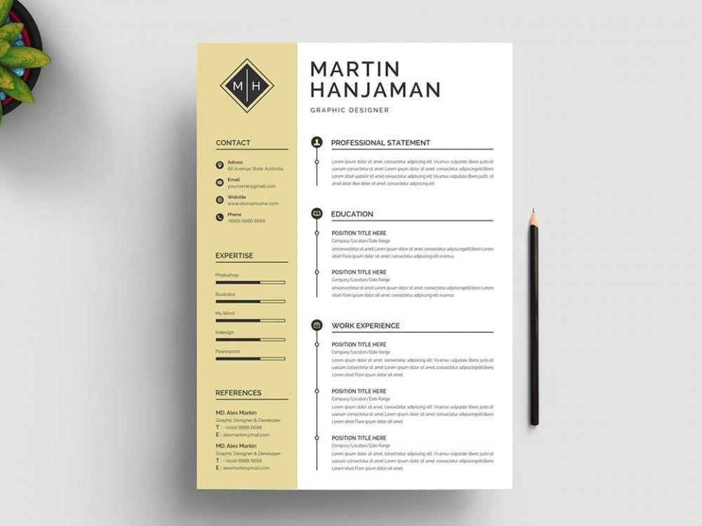 Free Word Resume Templates 2019 from i.pinimg.com