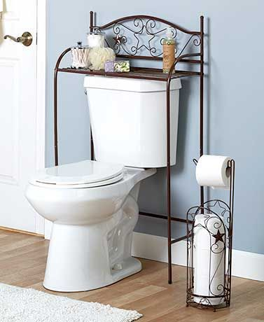 Bronze Scrolled Star Bath Organizers Add Style And Storage. Each Piece  Features Scrollwork And Die