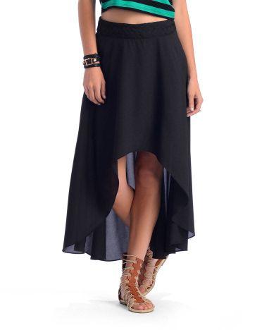 hi-low skirt // Ark & Co.