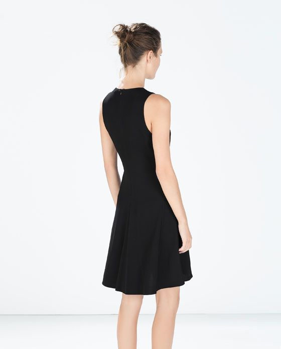ZARA - WOMAN - A-LINE DRESS | Kleider, Kleid arbeit ...