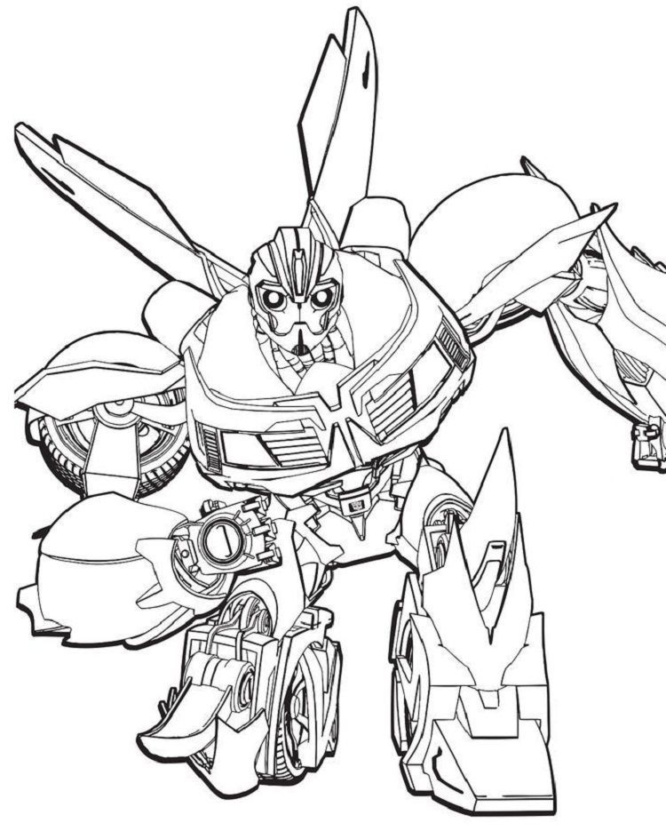 Transformers Prime Beast Hunter Coloring Pages Bee Coloring Pages Transformers Coloring Pages Coloring Pages