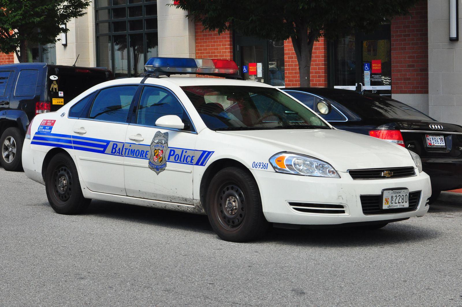 Baltimore Police Chevrolet Impala Rmp Baltimore Police Police Cars Chevrolet Impala