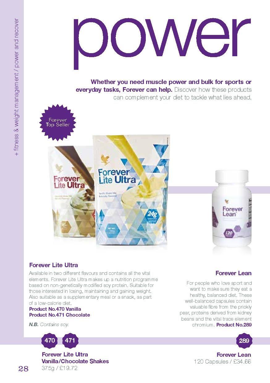 c53ae5585f86ca Forever Lite Ultra Vanilla Chocolate - £19.72 Forever Lean - £34.68 ...