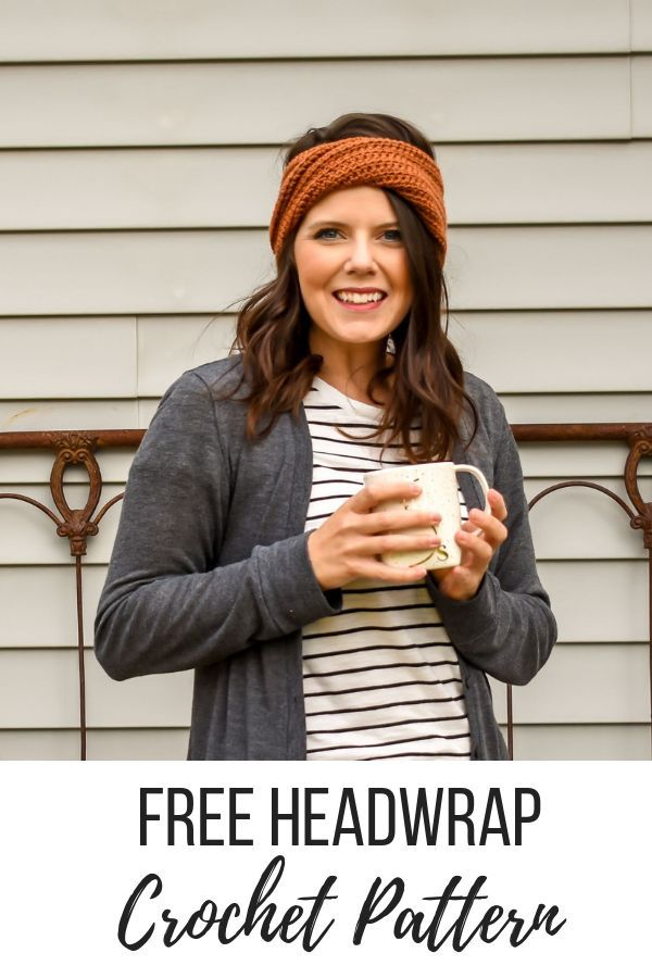A Modern Twist On A Crochet Headband Pattern #knitheadbandpattern