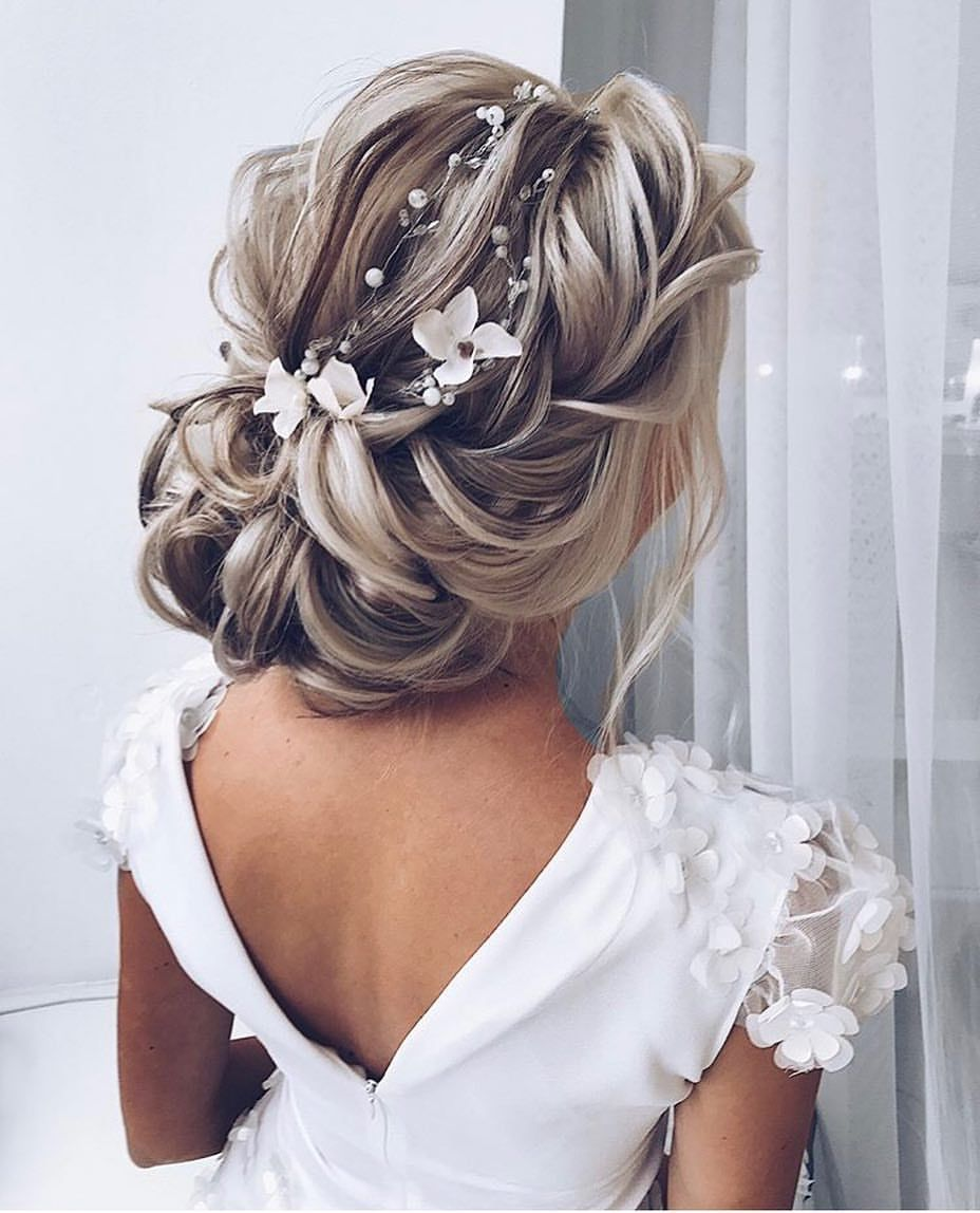 ✨an updo fit for a princess!✨ @wedding.pages