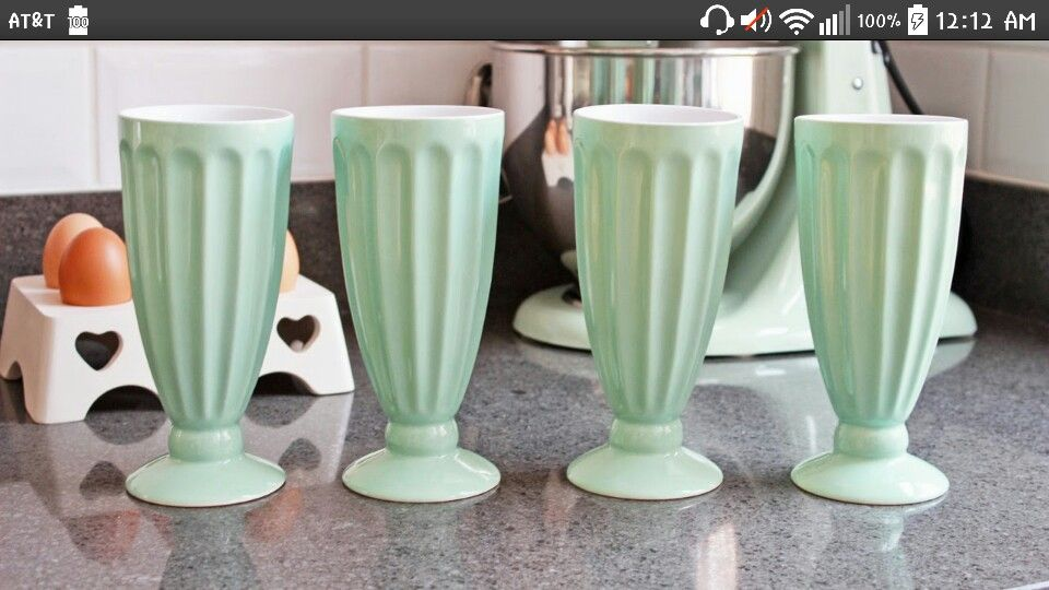 Milkshake cups!