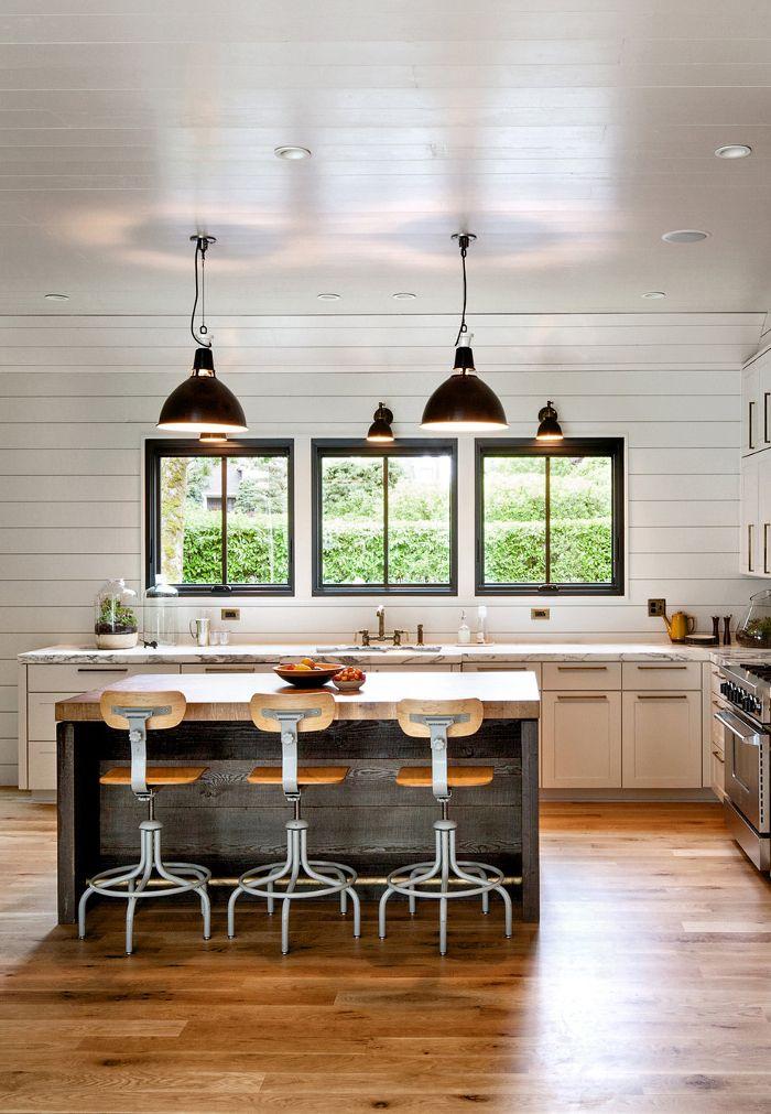A Modern Farmhouse In Portland  Architecture  Modern farmhouse interiors Farmhouse style